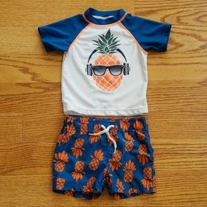 🎉HP🎉Appaman Mini Rashguard baby swimsuit 6-12m ⛱